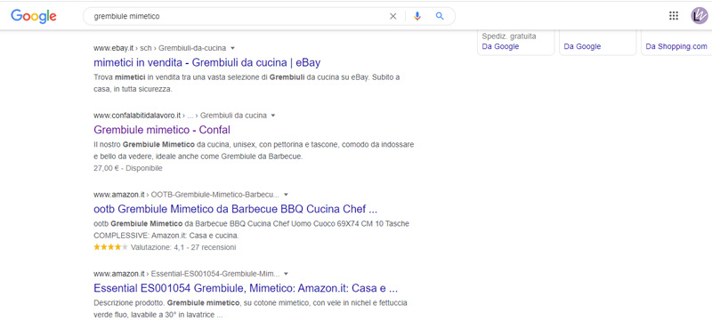 SERP - Search Engine Results Pages